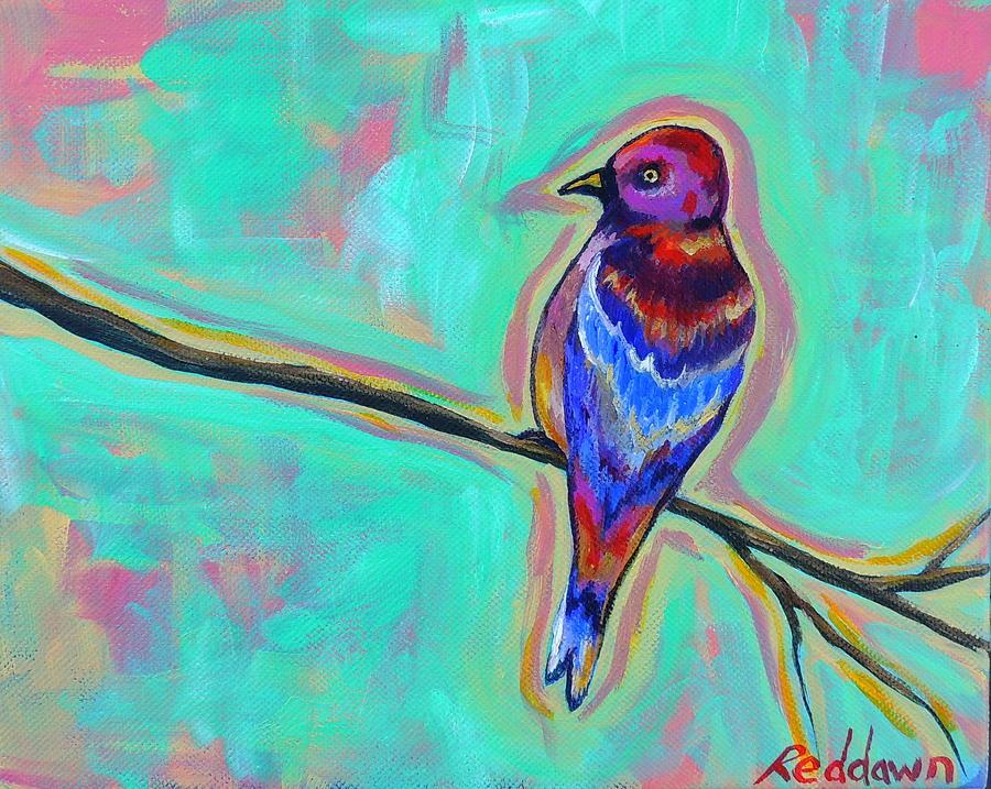Wild Bird Painting - Salvaje by Dawn Gray Moraga