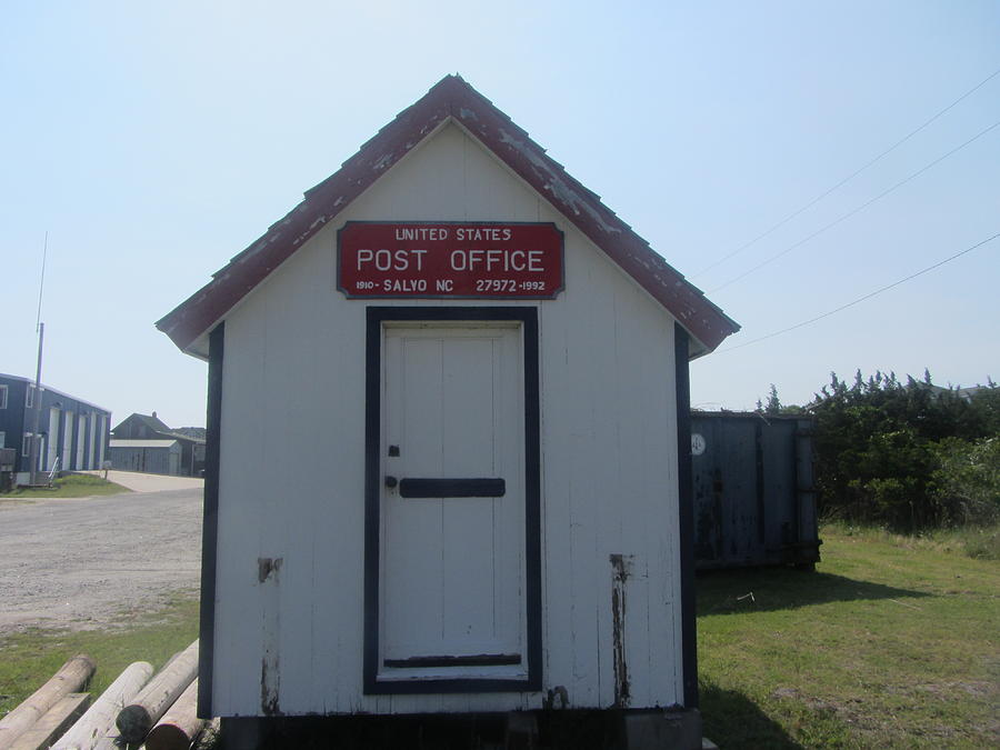Salvo Photograph - Salvo Post Office by Cathy Lindsey