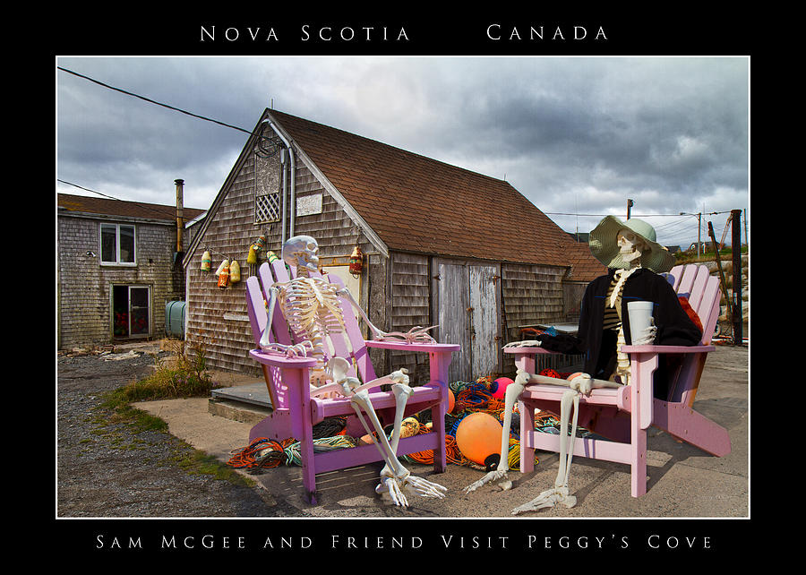 Peggy Photograph - Sam And Peggys Cove by Betsy Knapp