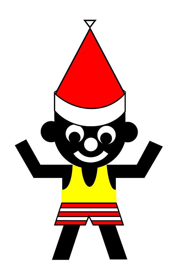 Sam wishes you a Merry Christmas Digital Art by Asbjorn Lonvig