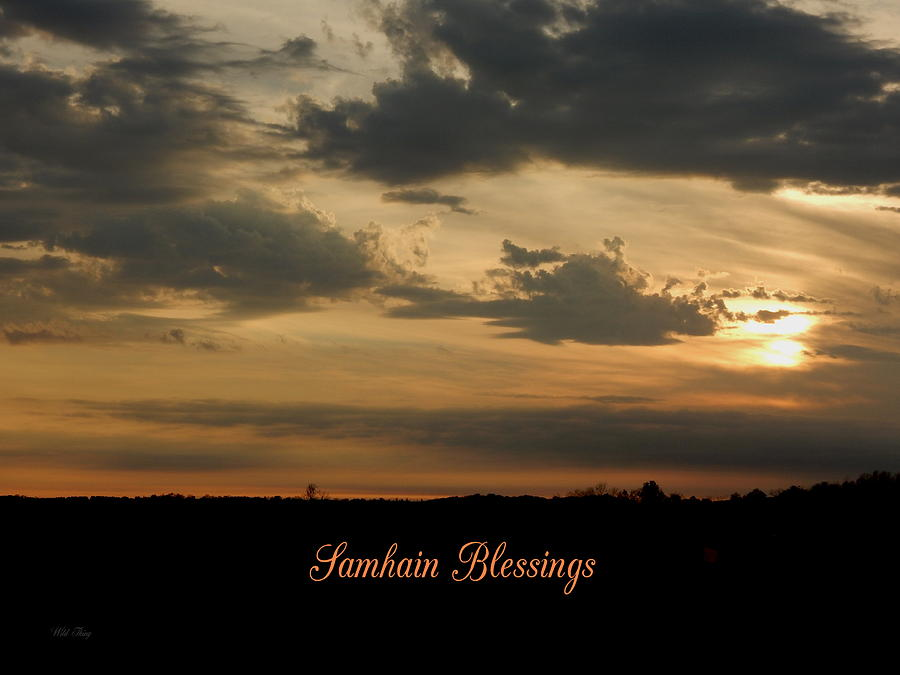 Samhain blessings photograph by wild thing autumn photograph samhain blessings by wild thing m4hsunfo