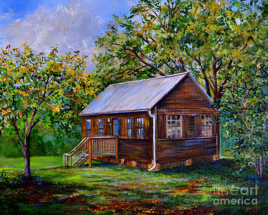 Home Painting - Sams Cabin by AnnaJo Vahle
