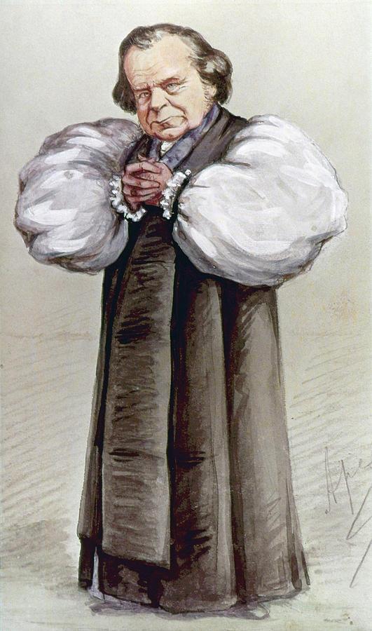 1869 Painting - Samuel Wilberforce (1805-1873) by Granger