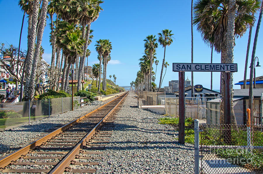 San Clemente Photograph - San Clemente  by Baywest Imaging