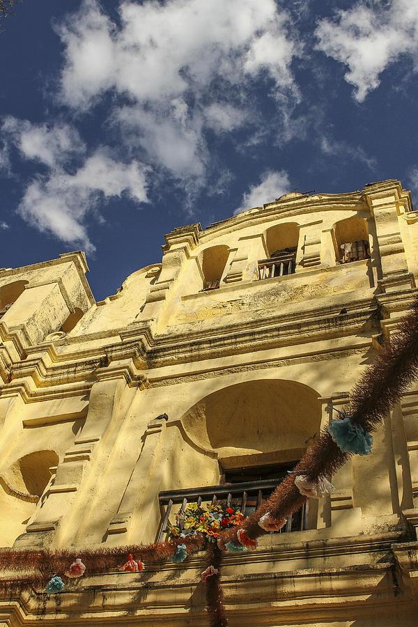 Mexican Town Photograph - San Cristobal Church by Martha Roque