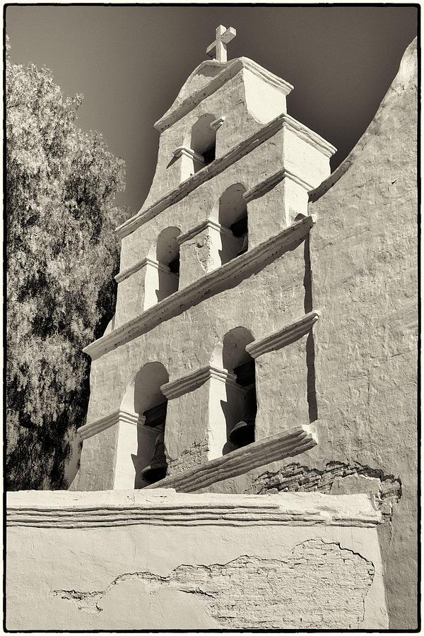 San Diego Photograph - San Diego Mission by Jeanne Hoadley