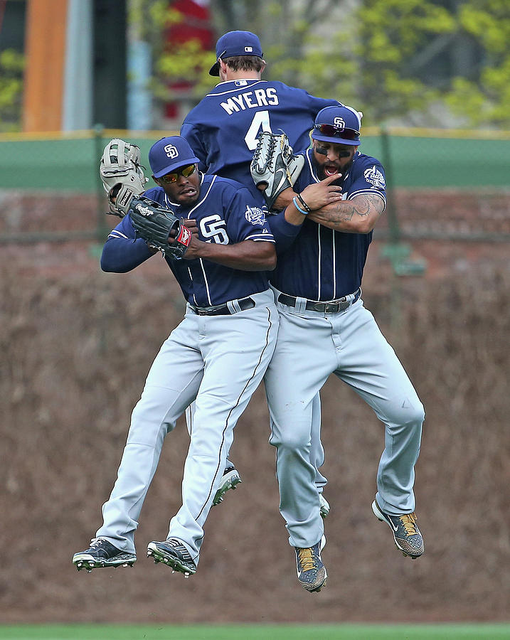 San Diego Padres V Chicago Cubs Photograph by Jonathan Daniel