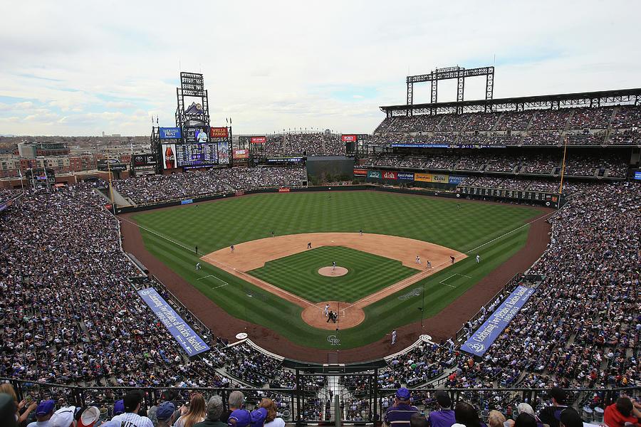 San Diego Padres V Colorado Rockies Photograph by Doug Pensinger