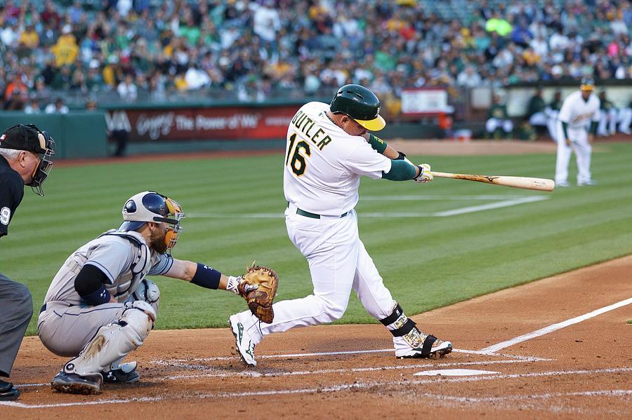 San Diego Padres V Oakland Athletics Photograph by Jason O. Watson