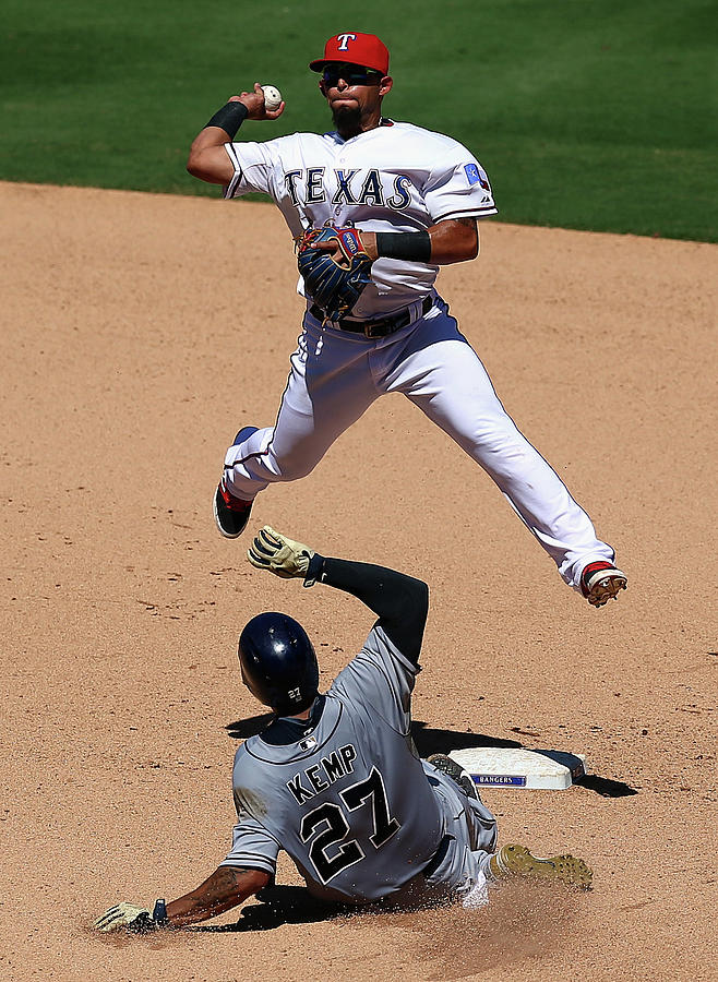 San Diego Padres V Texas Rangers Photograph by Ronald Martinez