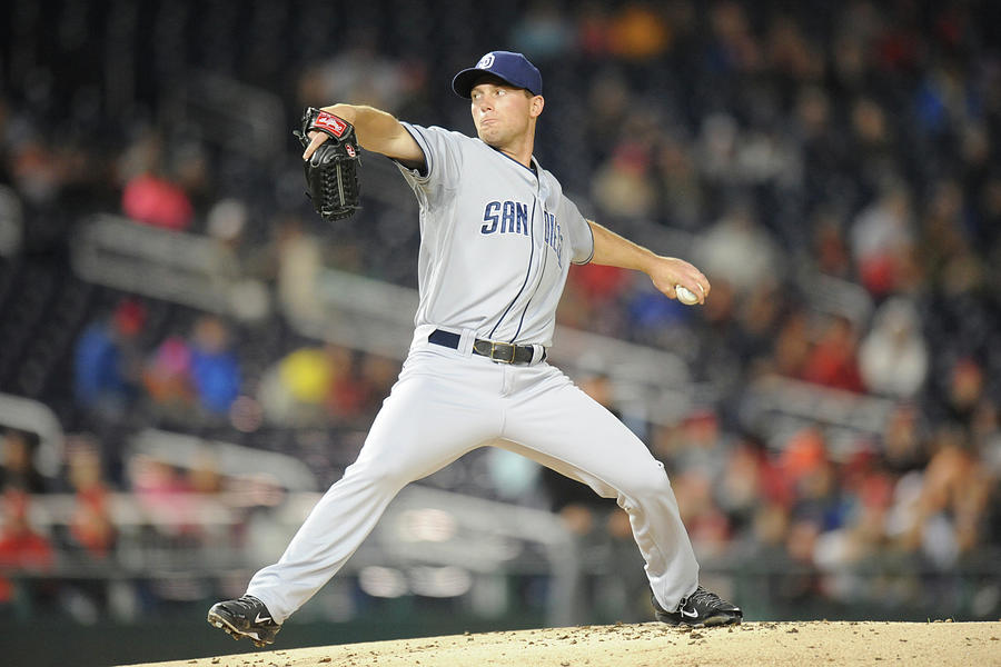 San Diego Padres V. Washington Nationals Photograph by Mitchell Layton