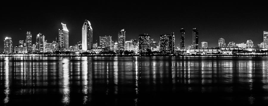 Usa Photograph - San Diego Skyline by Robert  Aycock