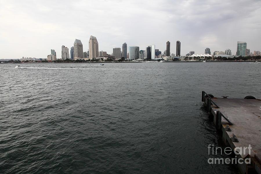 San Diego Photograph - San Diego Skyline 5d24337 by Wingsdomain Art and Photography