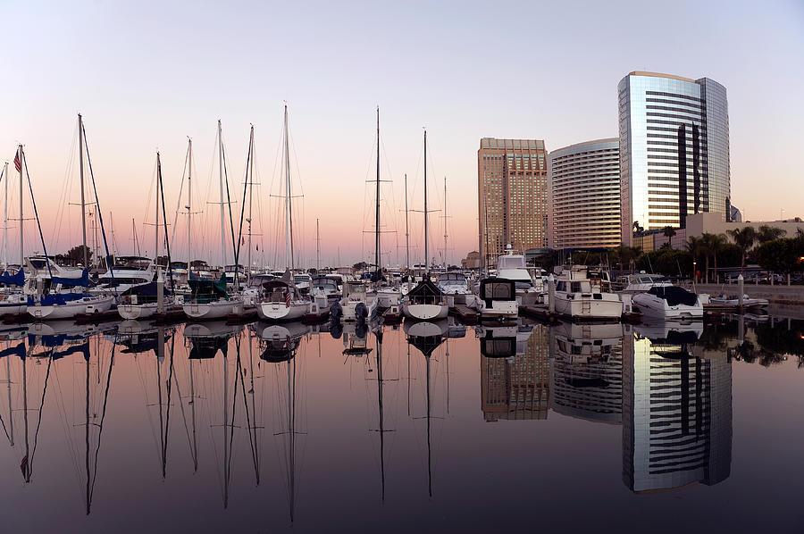 San Diego Skyline And Marina Photograph by Kevinjeon00