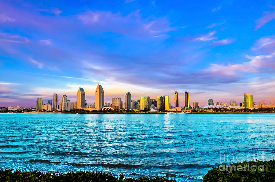 San Diego Skyline Photograph By Baywest Imaging