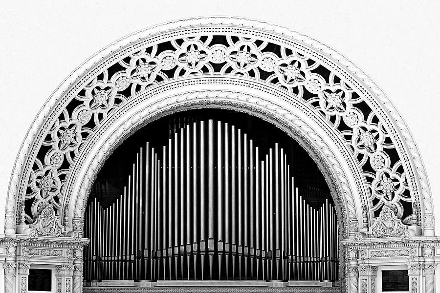 San Diego Photograph - San Diego Spreckels Organ by Christine Till