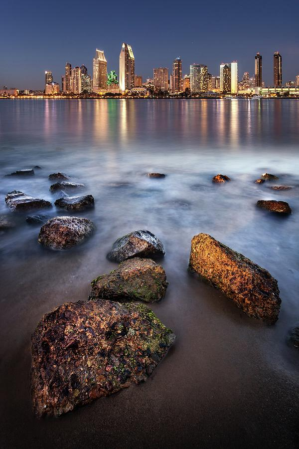 San Diego Twilight Photograph by Tom Grubbe