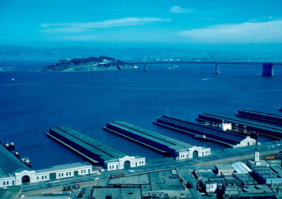 San Francisco Photograph - San Francisco 11 1955 by Cumberland Warden