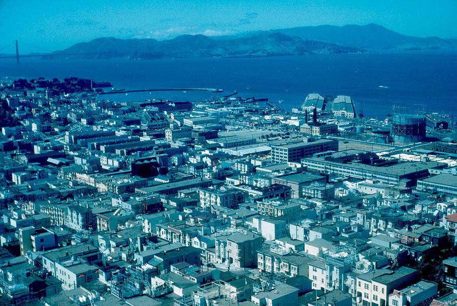 San Francisco Photograph - San Francisco 14 1955 by Cumberland Warden