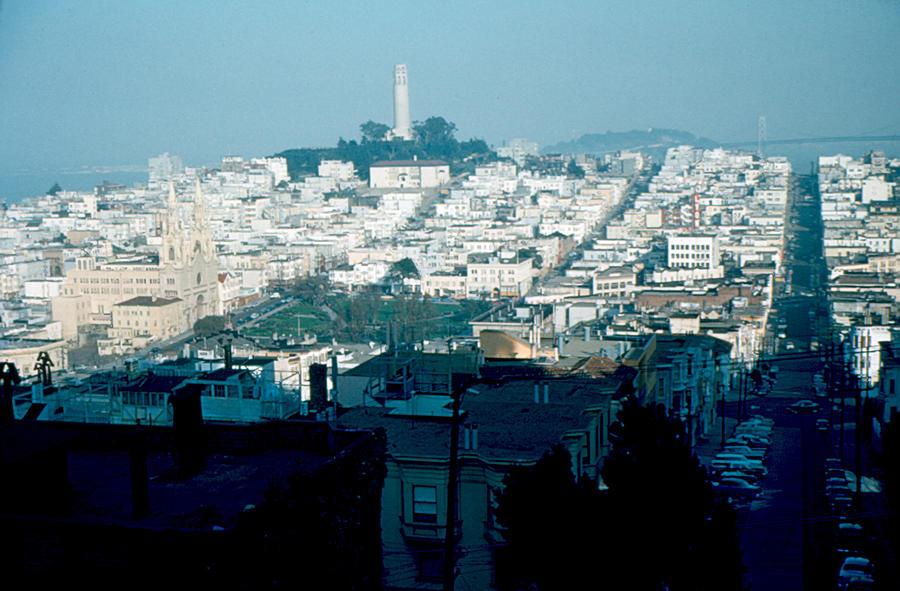 San Francisco Photograph - San Francisco 1956 by Cumberland Warden