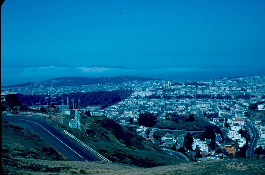 San Francisco Photograph - San Francisco 4 1955 by Cumberland Warden