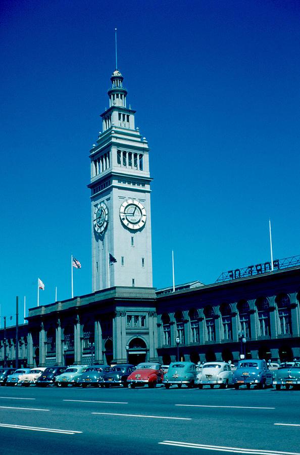 San Francisco Photograph - San Francisco 5 1955 by Cumberland Warden