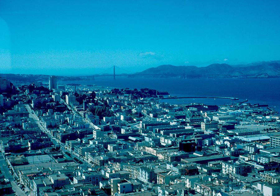 San Francisco Photograph - San Francisco 6 1955 by Cumberland Warden