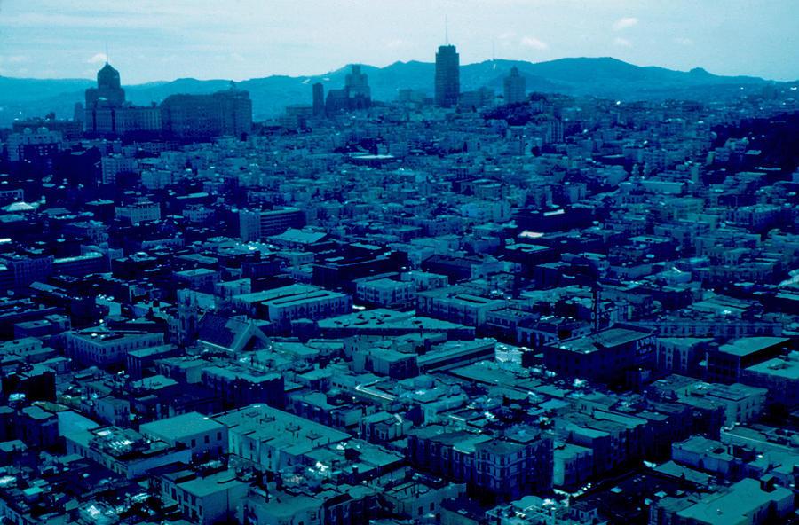 San Francisco Photograph - San Francisco 8 1955 by Cumberland Warden