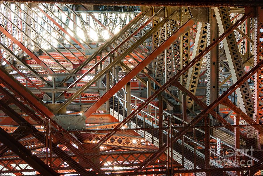 San Francisco Bay Bridge Photograph - San Francisco Bay Bridge 1.6994 by Stephen Parker