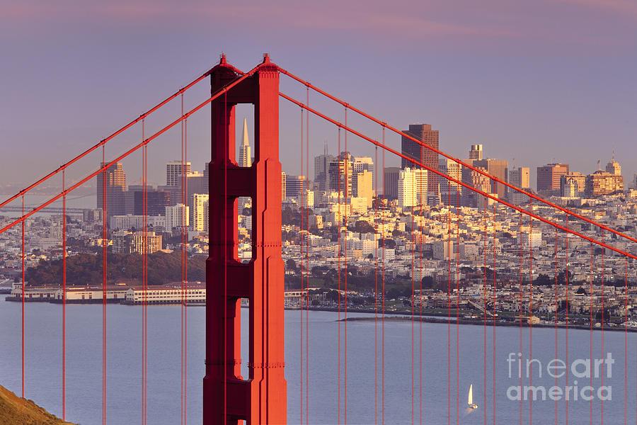 Golden Gate Photograph - San Francisco by Brian Jannsen