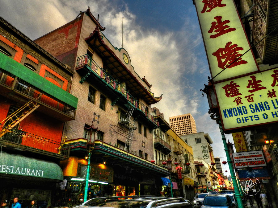 San Francisco Ca Photograph - San Francisco - Chinatown 004 by Lance Vaughn