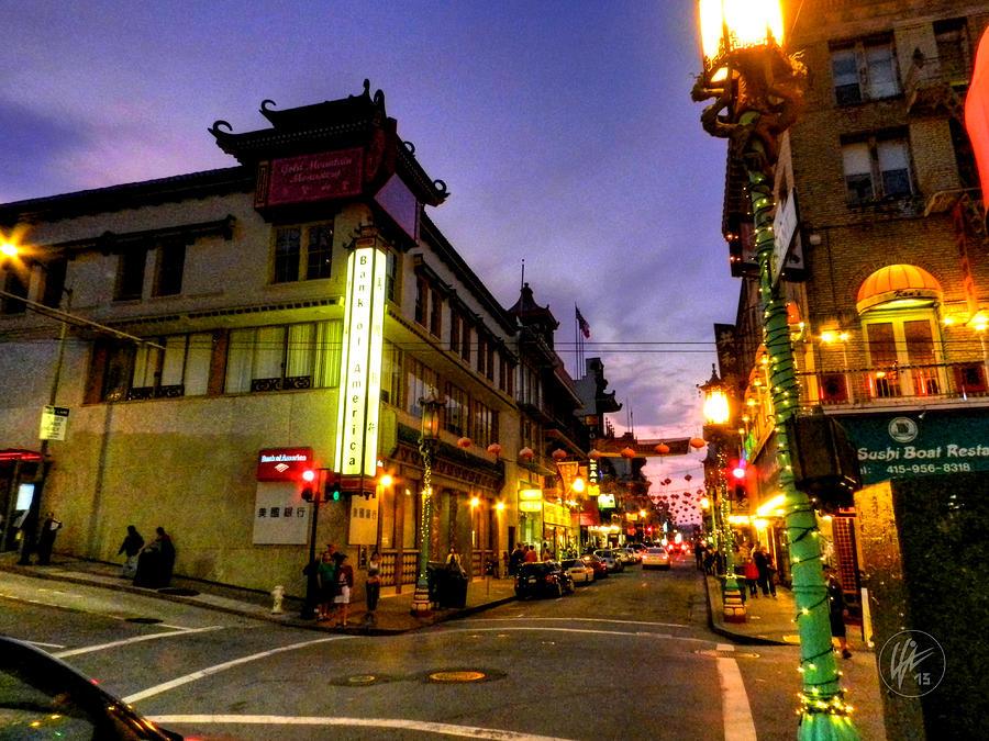San Francisco California Photograph - San Francisco - Chinatown 010 by Lance Vaughn