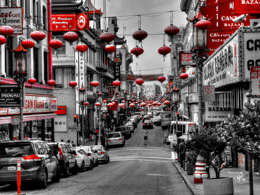 San Francisco California Photograph - San Francisco - Chinatown 014 by Lance Vaughn