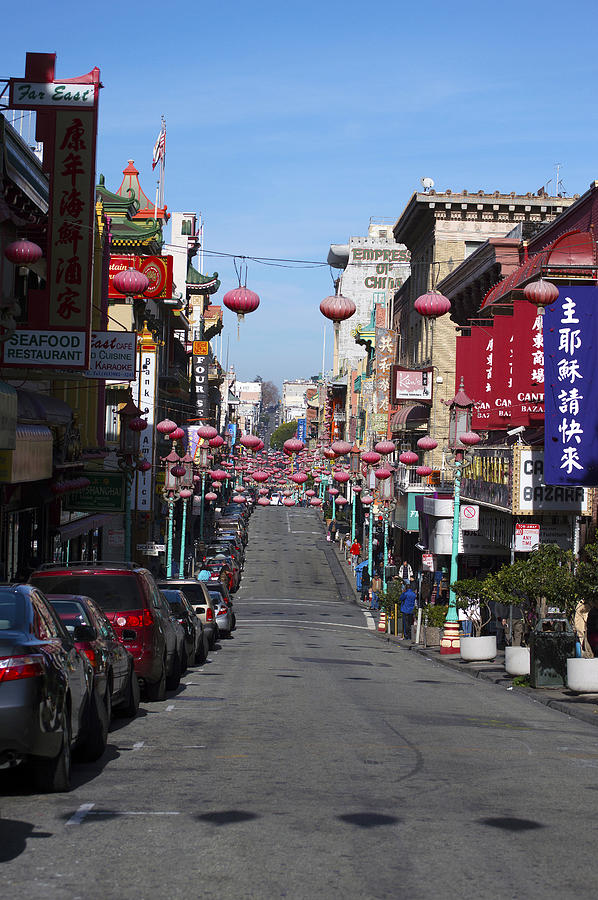 Chinatown Photograph - San Francisco Chinatown by Christopher Winkler