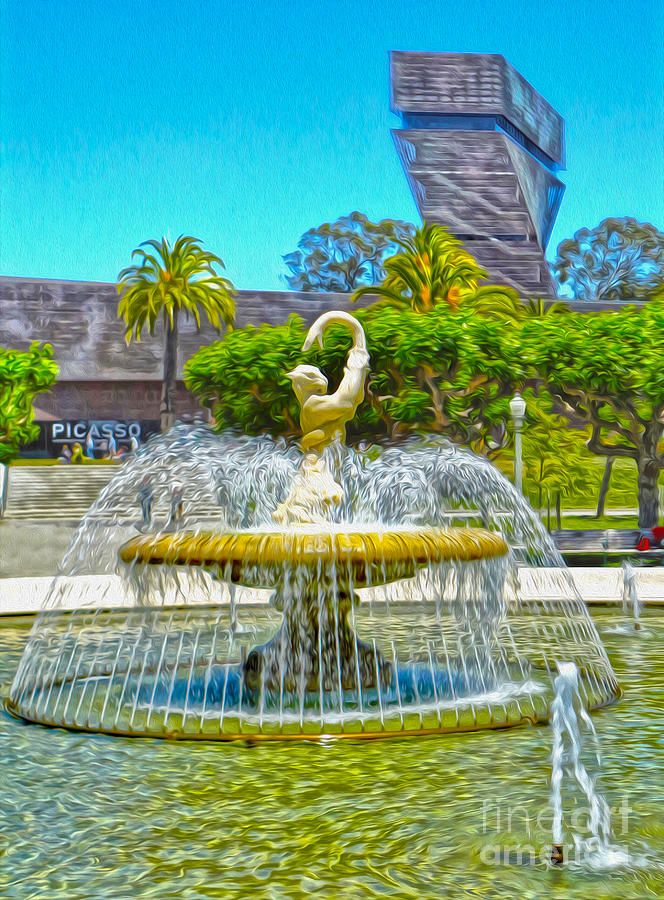 San Francisco Painting - San Francisco - De Young Museum - 01 by Gregory Dyer