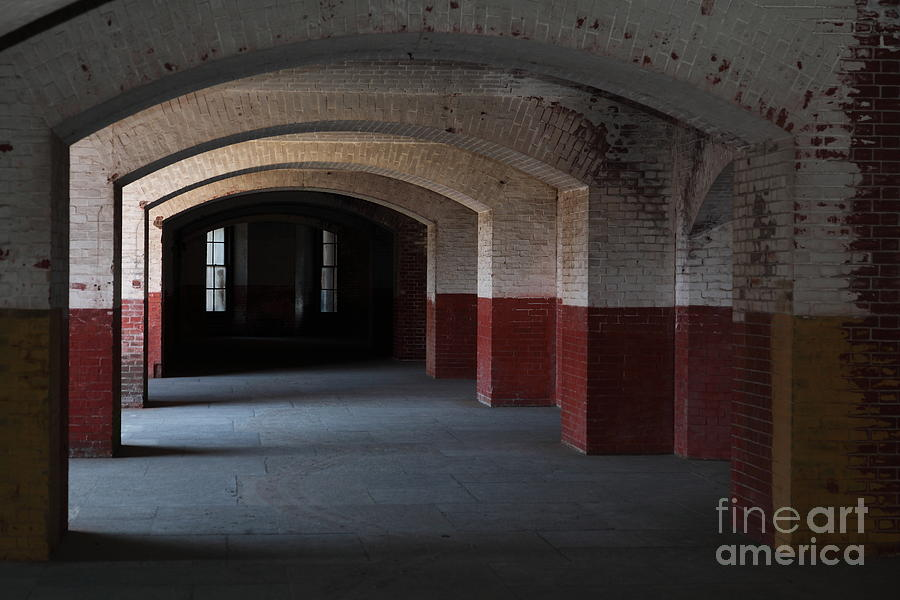 San Francisco Photograph - San Francisco Fort Point 5d21543 by Wingsdomain Art and Photography