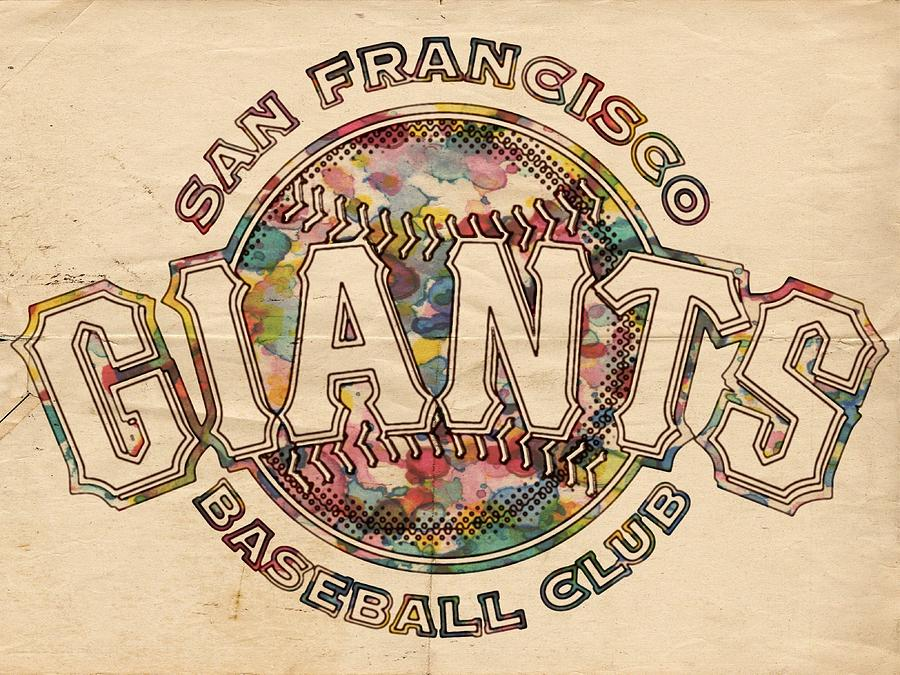 San Francisco Giants Painting - San Francisco Giants Poster Vintage by Florian Rodarte
