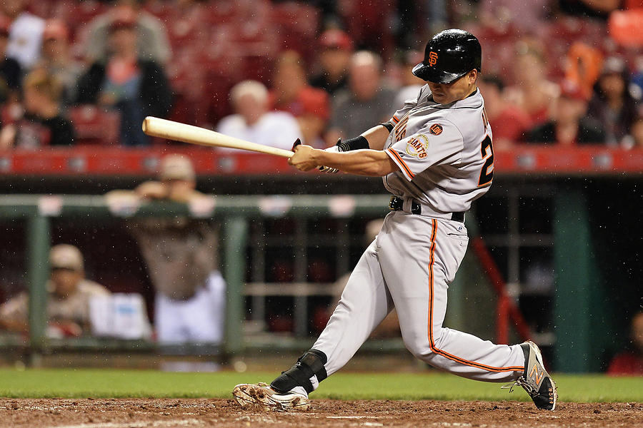 San Francisco Giants V Cincinnati Reds Photograph by Jamie Sabau