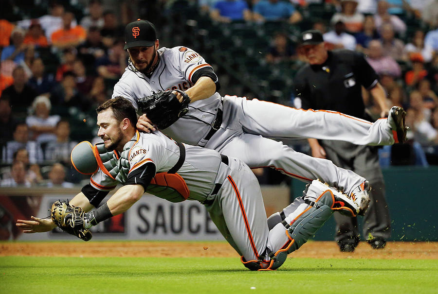 San Francisco Giants V Houston Astros Photograph by Scott Halleran