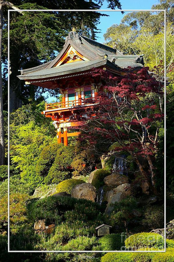 Pagodas Photograph - San Francisco Golden Gate Park Japanese Tea Garden 10 by Robert Santuci