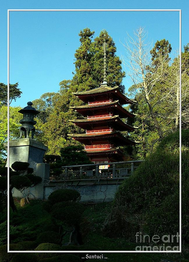 Pagodas Photograph - San Francisco Golden Gate Park Japanese Tea Garden 8 by Robert Santuci