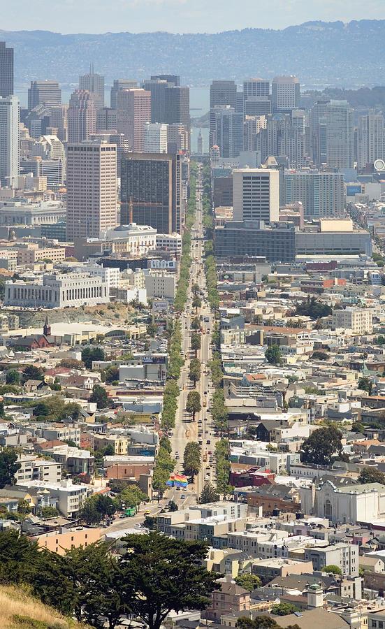 San Francisco Photograph - San Francisco - Market Street - Castro To Embarcadero by Daniel Furon