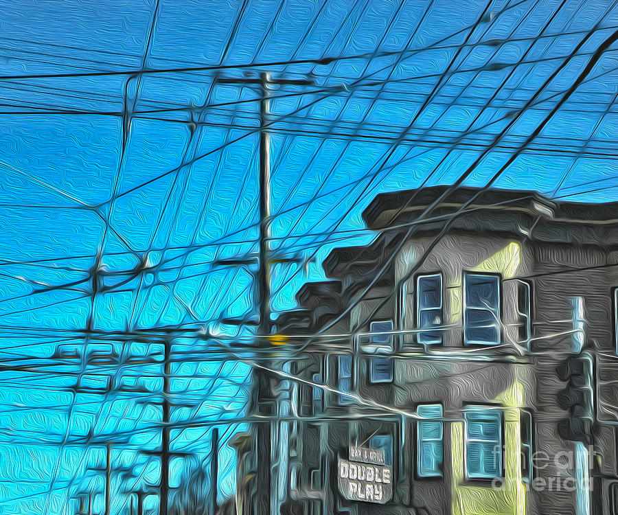 San Francisco Painting - San Francisco - Mission District - 01 by Gregory Dyer