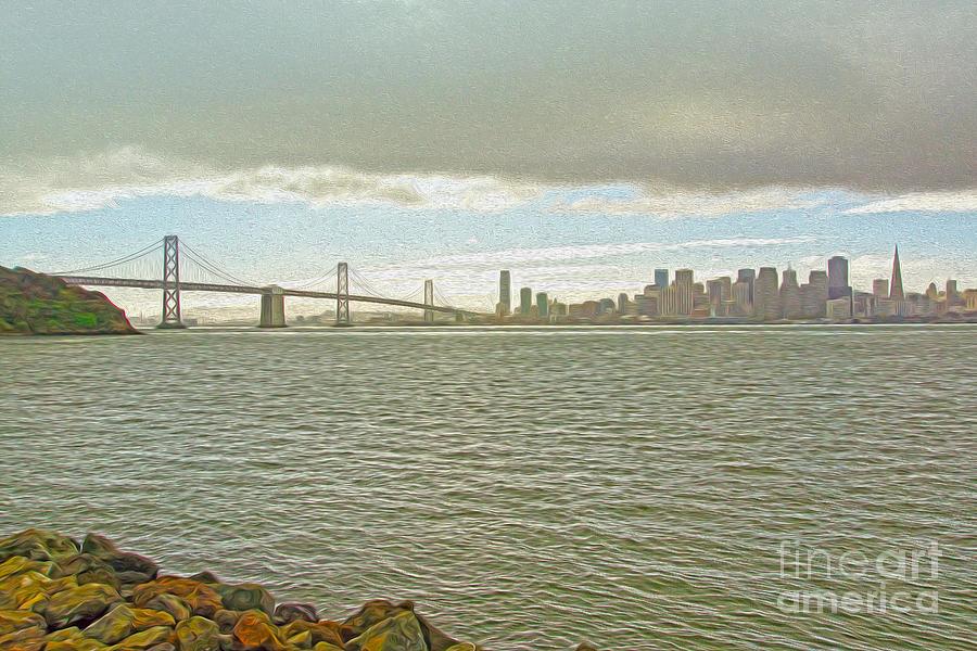 San Francisco Digital Art - San Francisco by Nur Roy
