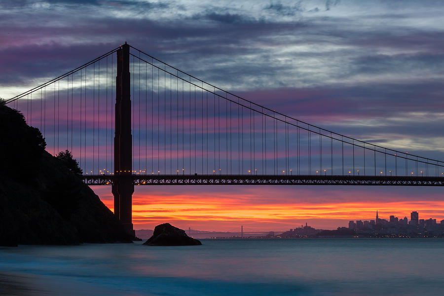 San Francisco on Fire by Andy Bitterer