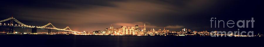 San Francisco Skyline Photograph by Ron Smith