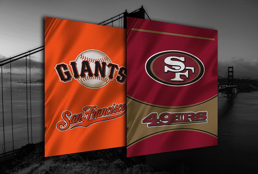 San Francisco Sports Teams Photograph By Joe Hamilton