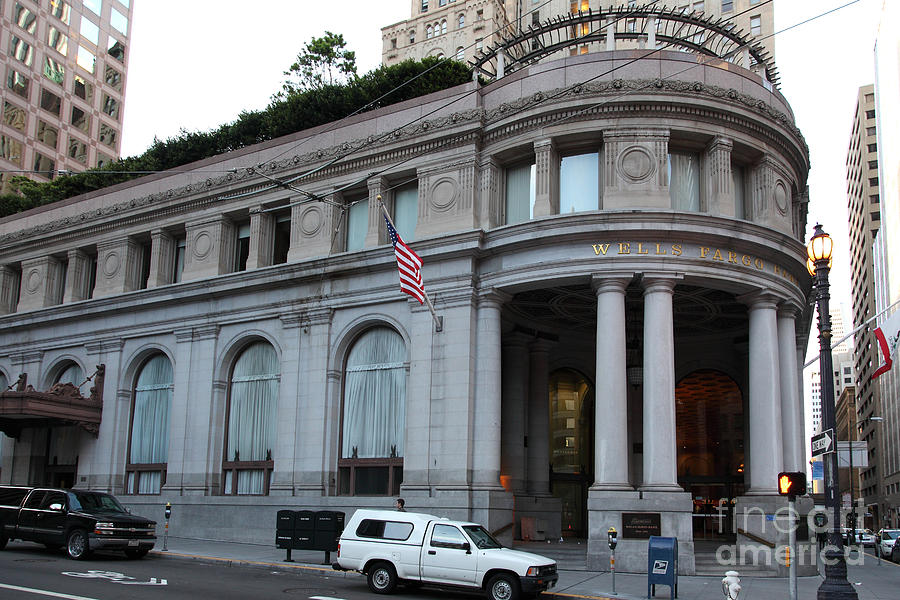 San Francisco Wells Fargo Building 5d20603 Photograph By