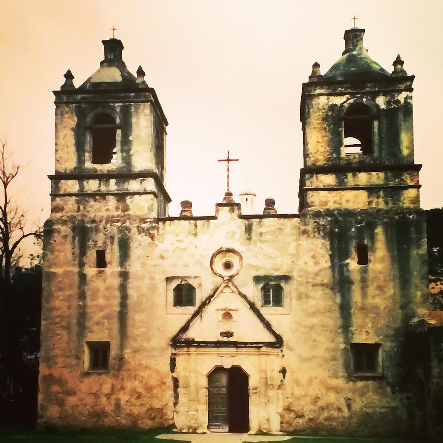San Jose Mission by Patricia Januszkiewicz