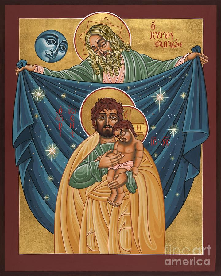St. Joseph Painting - San Jose Sombra del Padre 161 by William Hart McNichols